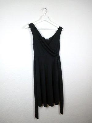 promod kleine schwarze kleid S M 36 38 schwarz elegant party fashion blogger
