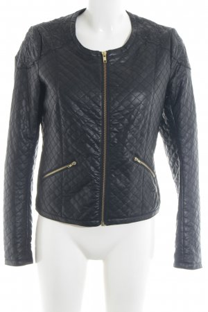 Promod Faux Leather Jacket black casual look