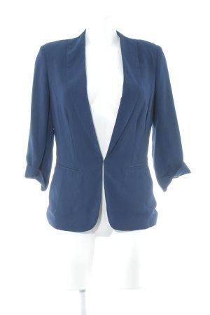 Promod Kurz-Blazer dunkelblau Business-Look