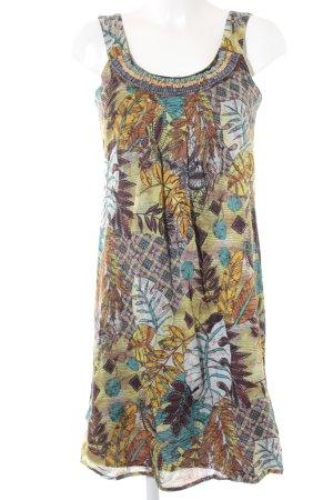 Promod Kurzarmkleid florales Muster extravaganter Stil