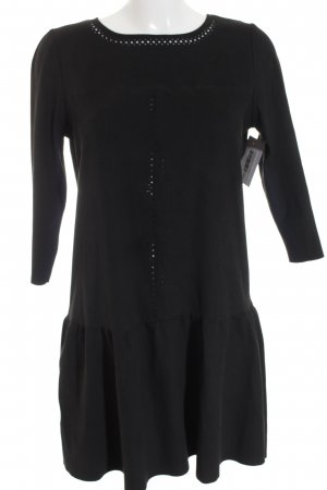 Promod Kurzarmkleid schwarz klassischer Stil