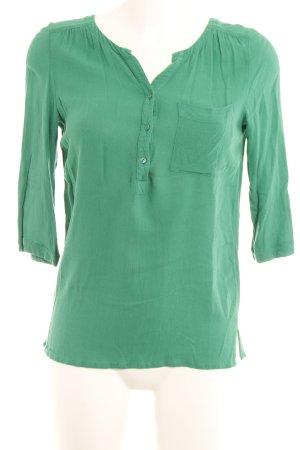 Promod Langarm-Bluse grün Casual-Look