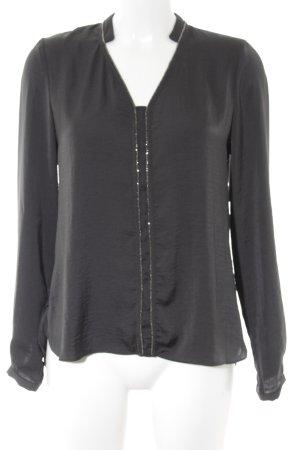 Promod Langarm-Bluse taupe Casual-Look