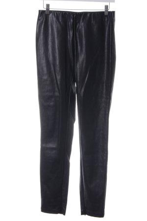 Promod Lederhose schwarz Gothic-Look