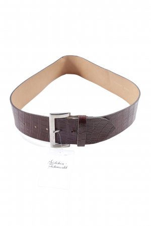 Promod Faux Leather Belt brown casual look