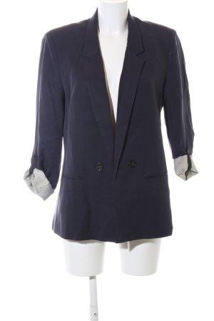 Promod Long-Blazer blau Business-Look