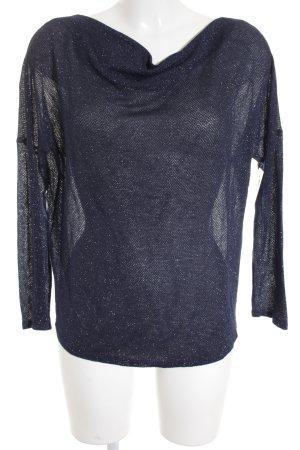 Promod Longsleeve dunkelblau extravaganter Stil