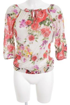 Promod Longsleeve florales Muster Casual-Look