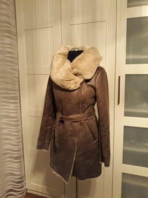 Promod Mantel Braun Größe 34