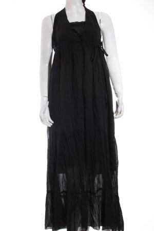 Promod Maxikleid schwarz klassischer Stil