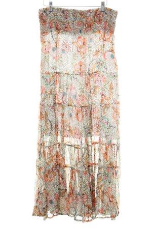 Promod Falda larga multicolor