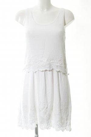 Promod Minikleid weiß schlichter Stil