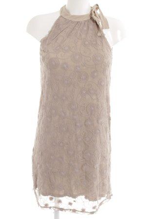 Promod Minikleid blasslila Ornamentenmuster Casual-Look