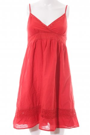 Promod Minikleid rot Country-Look