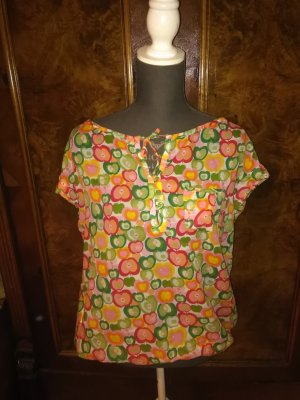 Promod Oberteil mit Äpfel Muster