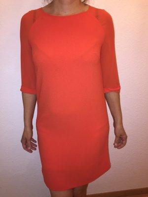 Promod Midi Dress dark orange
