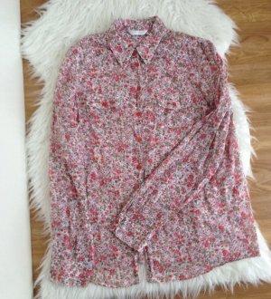 PROMOD Petitfleur Streublüm Bluse Tunika Gr 36 38 Baumwolle Floral Top