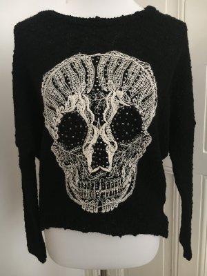 Promod Pullover mit Totenkopf Design