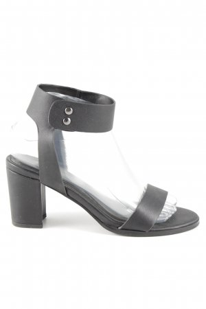 Promod Riemchen-Sandaletten schwarz Business-Look