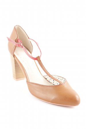 Promod Strapped pumps light brown casual look