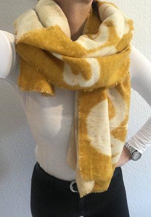 Promod Schal gelb weiß Blogger neu mit Etikett
