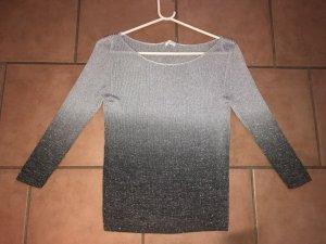 Promod Geribd shirt zilver