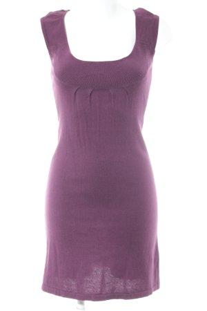 Promod Vestido estilo camisa púrpura estilo minimalista