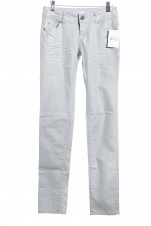 Promod Skinny Jeans silberfarben Casual-Look
