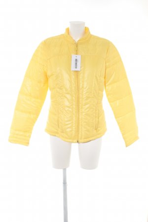 Promod Quilted Jacket dark yellow casual look
