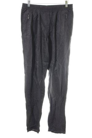 Promod Pantalone jersey antracite stile casual