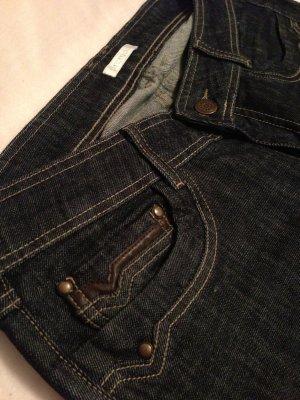 Promod Straight Jeans dunkel blau