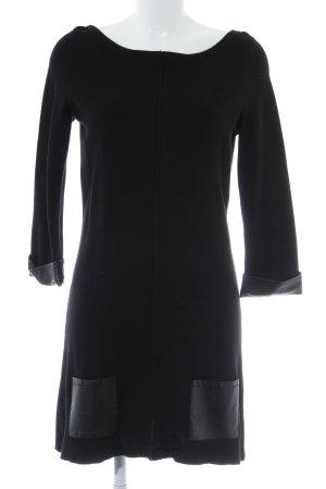 Promod Strickkleid schwarz Elegant