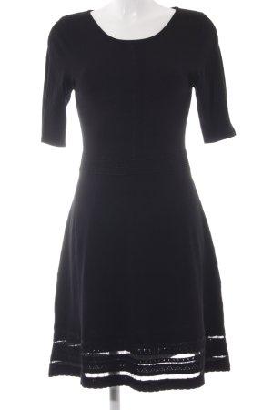Promod Strickkleid schwarz schlichter Stil