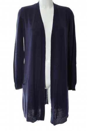 Promod Knitted Coat blue business style