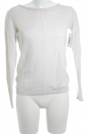 Promod Strickpullover creme Casual-Look