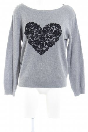 Promod Strickpullover Herzmuster Casual-Look