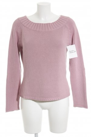 Promod Strickpullover rosa Casual-Look