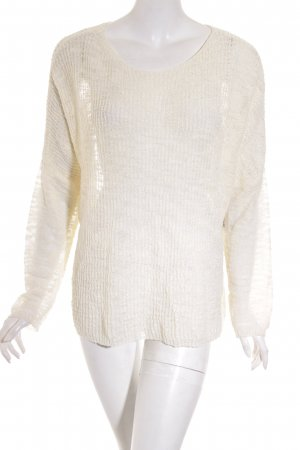 Promod Strickpullover wollweiß Casual-Look
