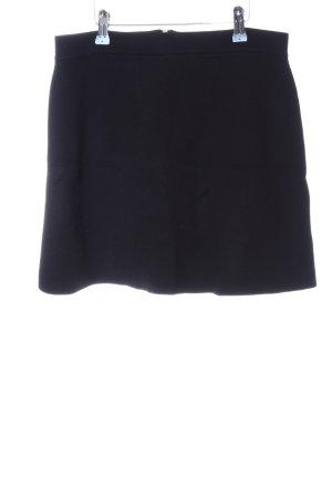 Promod Falda de punto negro look casual