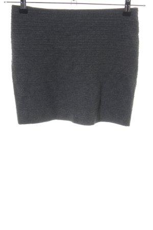Promod Falda de punto gris claro moteado estilo «business»