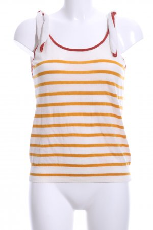 Promod Knitted Top striped pattern casual look