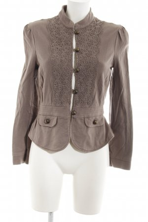 Promod Sweat Blazer grey brown Metal buttons
