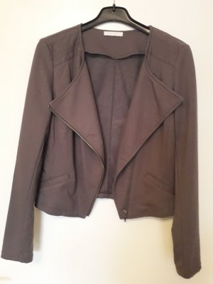 Promod Biker Jacket grey brown