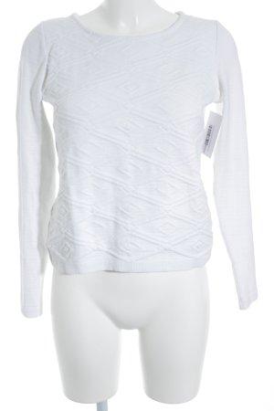 Promod Felpa bianco stile casual
