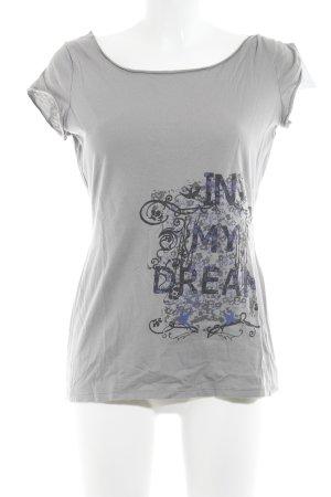 Promod T-Shirt Schriftzug gedruckt Casual-Look