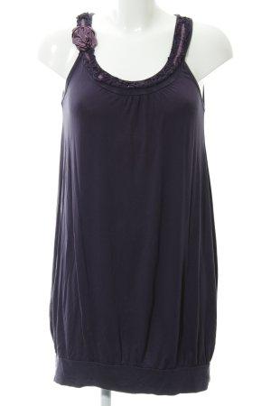 Promod Trägerkleid dunkelviolett Beach-Look