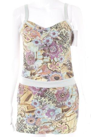 Promod Trägerkleid florales Muster extravaganter Stil