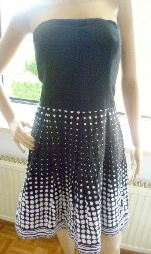 PROMOD - trägerloses Sommer Kleid - 100% leichte Baumwolle