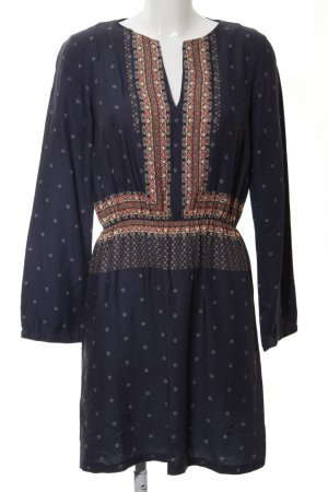 Promod Vestido tipo túnica estampado repetido sobre toda la superficie