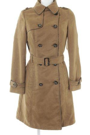 Promod Abrigo de entretiempo marrón arena look Street-Style